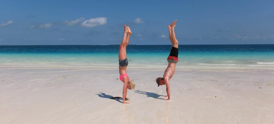 Zanzibar Beach Yoga