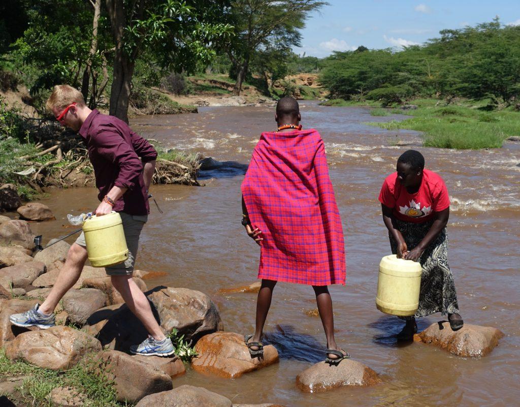 Mara River Water Walk